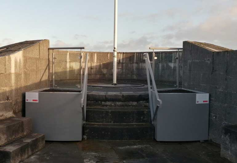 Conservation and Safety Works completed at Athlone Castle