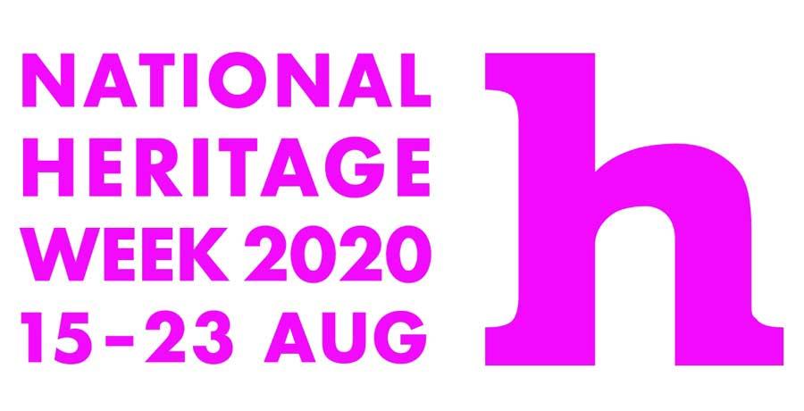 National Heritage week 2020 poster